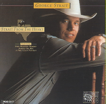 STRAIT FROM THE HEART BY STRAIT,GEORGE (CD)